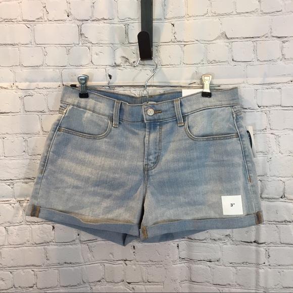 57d88148fd Old Navy Shorts | Womens Light Wash 3 Denim Jean | Poshmark
